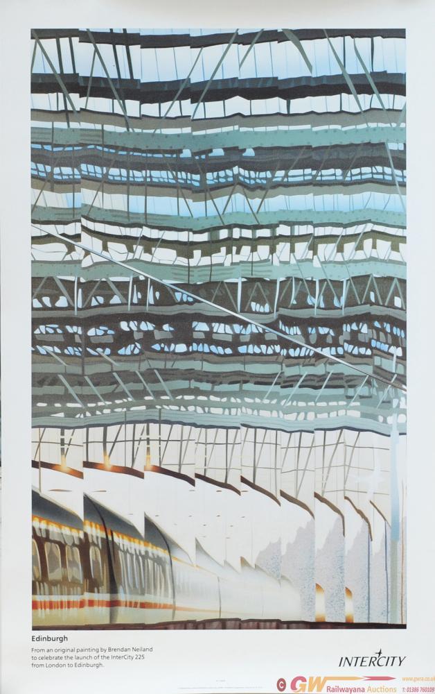 Poster 'Edinburgh' By Brendan Neiland, Double