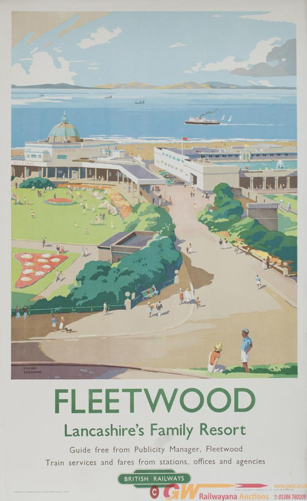 Poster BR FLEETWOOD LANCASHIRES FAMILY RESORT By