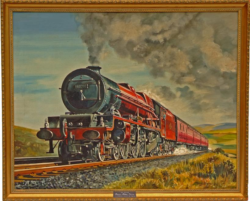 Original Oil Painting Of Princess Royal Class