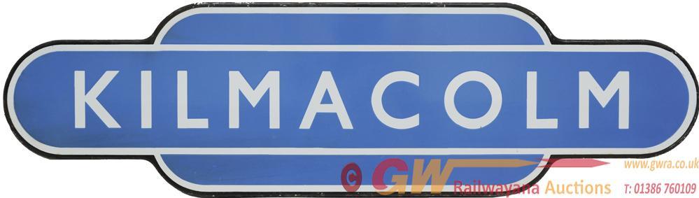 Totem BR(Sc) 'KILMACOLM' F/F. Ex Glasgow And South