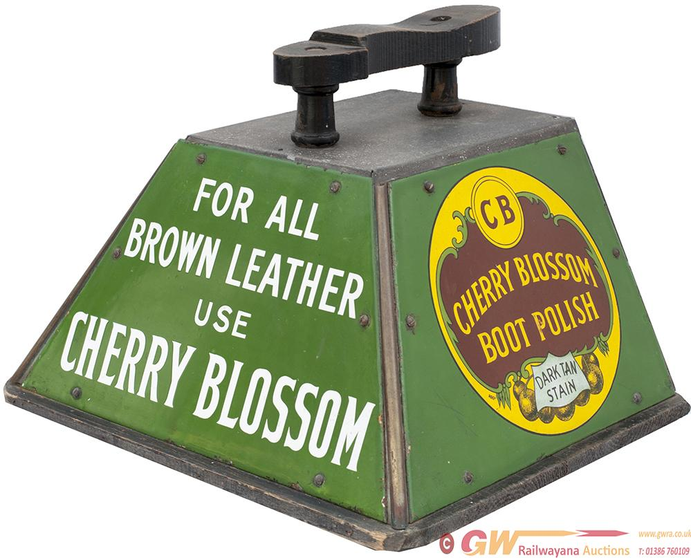 CHERRY BLOSSOM Shoeshine Cleaners Box Complete