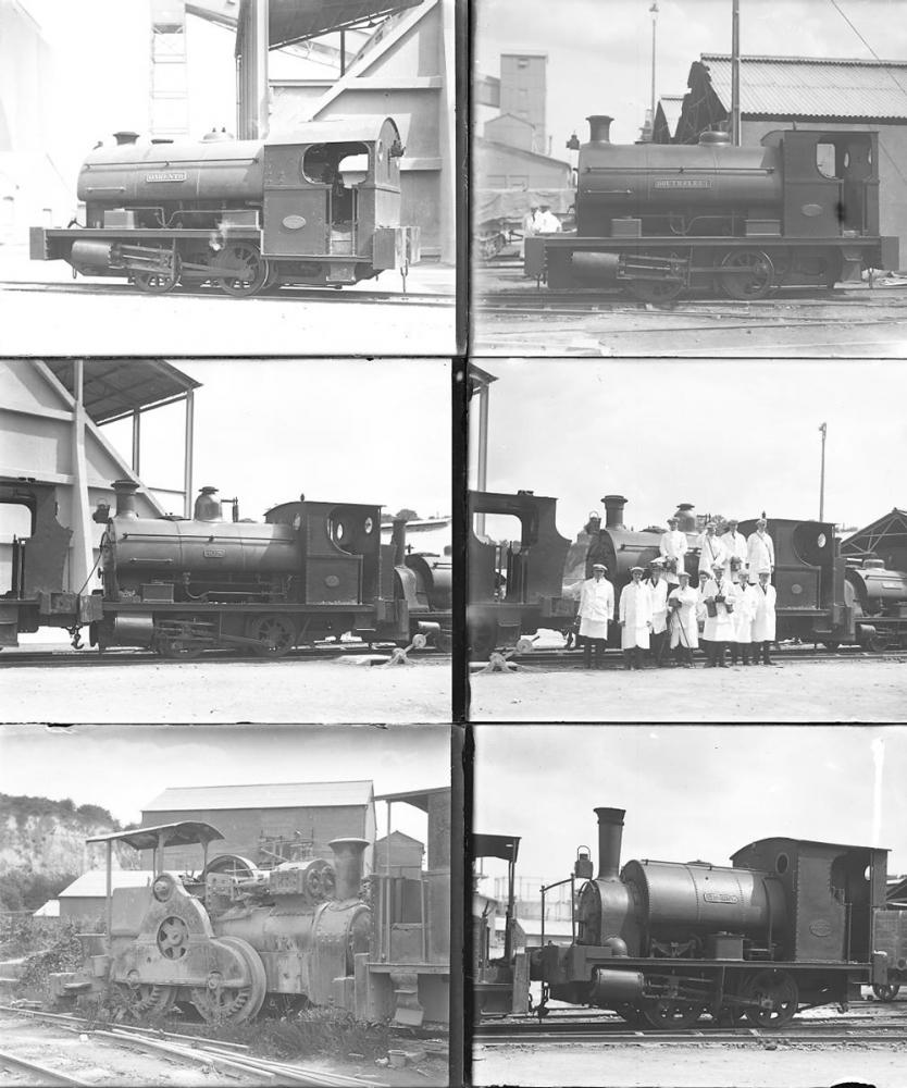 Qty 12 Large Format Glass Negatives, Industrial