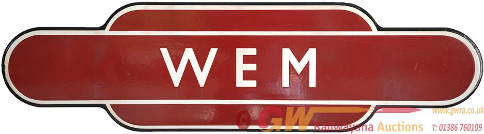 Totem BR(M) WEM Fully Flanged. Ex LMS Station On