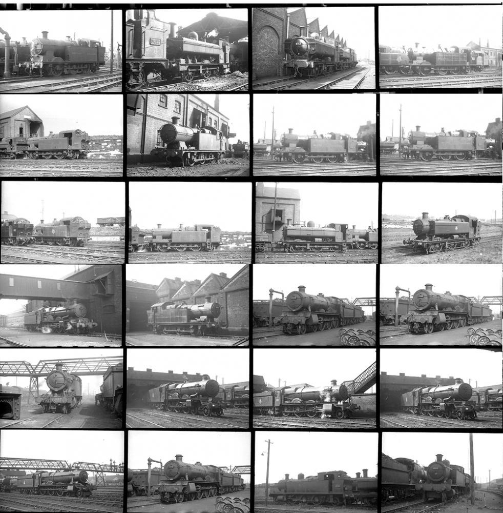 Approximately 136 35mm Negatives. Taken In 1951