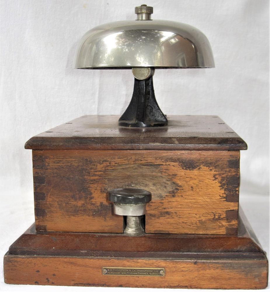 BR(W) Thompson BLOCK BELL Fitted With Mushroom