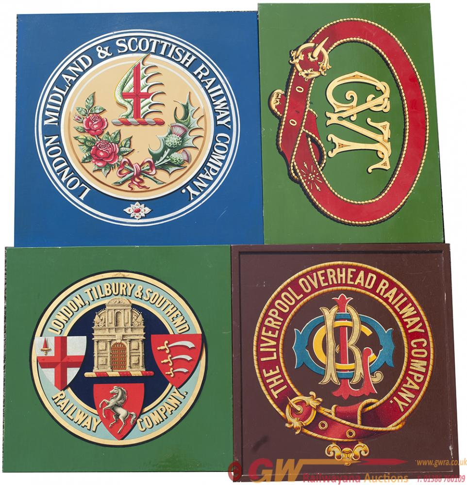 A Selection Of Coach Transfer Coat Of Arms All