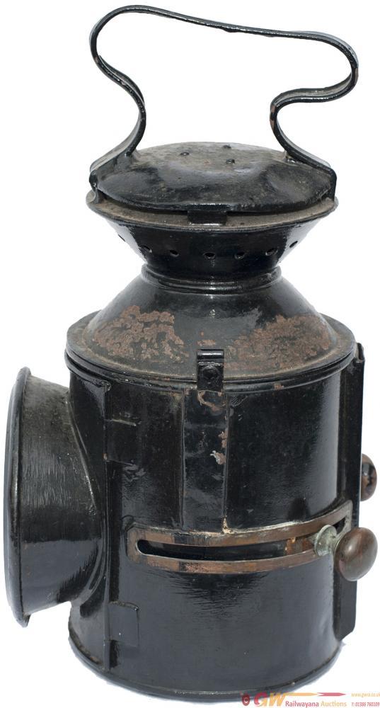 LNER / GER 3 Aspect Sliding Knob Handlamp, Stamped