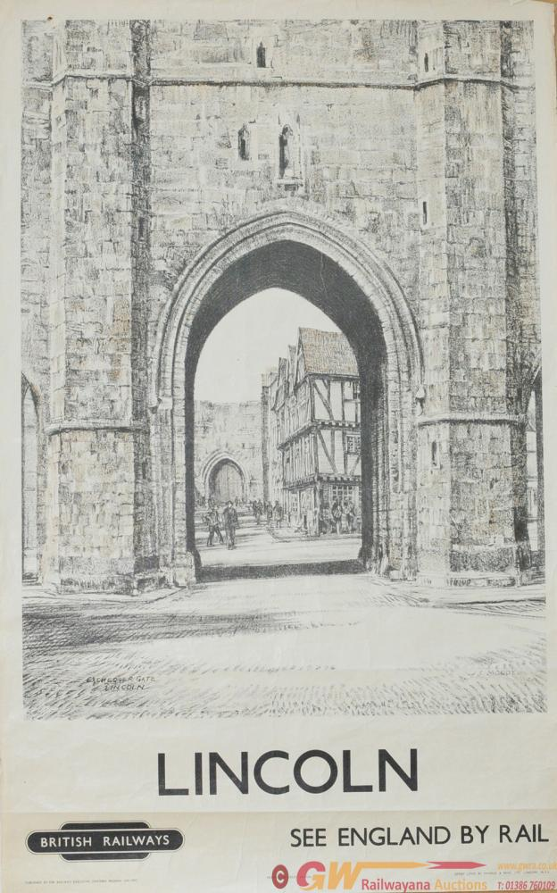 Poster BR(E) 'Lincoln' By John Charles Moody Circa