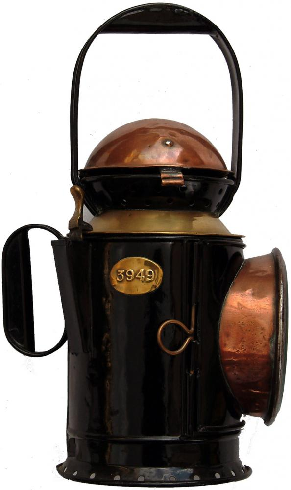 GWR Coppertop Guards Handlamp Complete With