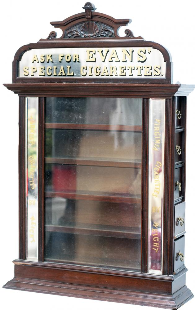 Advertising Cigarette Display Cabinet ASK FOR