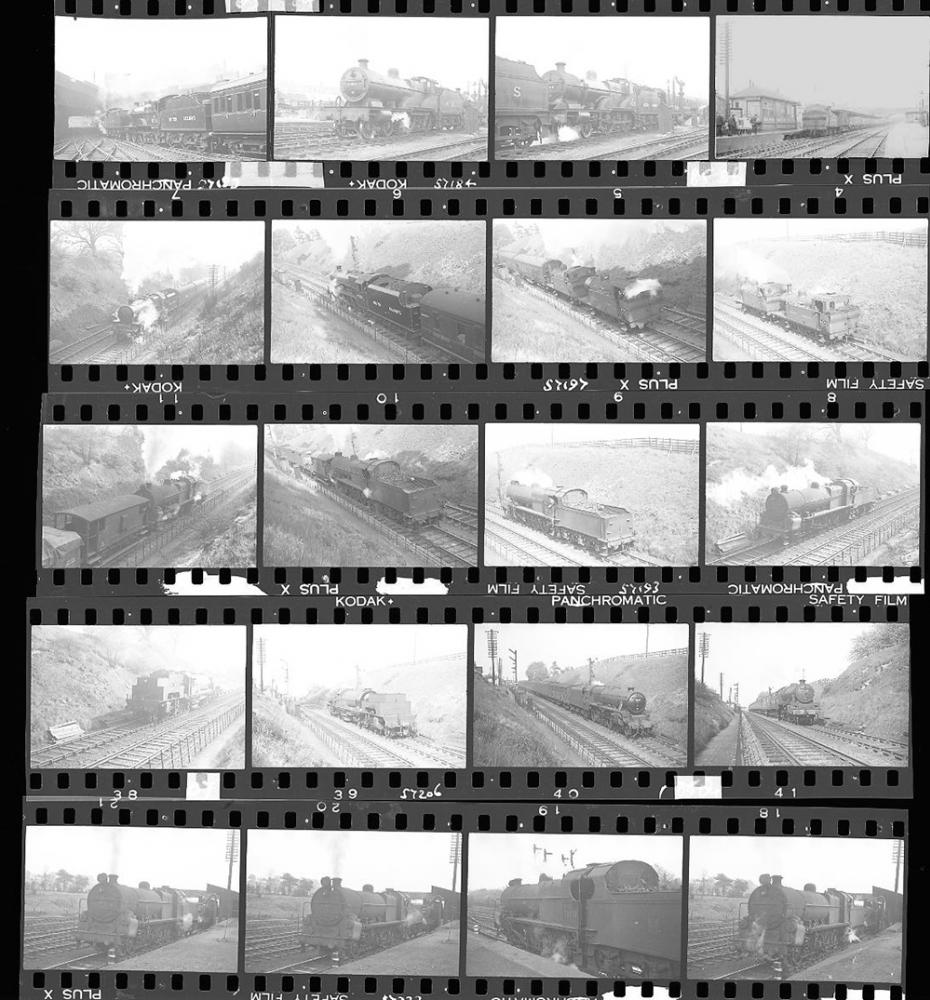 Approximately 52, 35mm Negatives. Includes