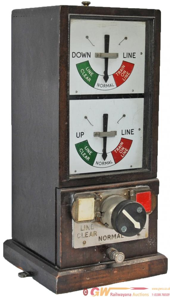 GWR 1947 Double Line Block Instrument. In Original