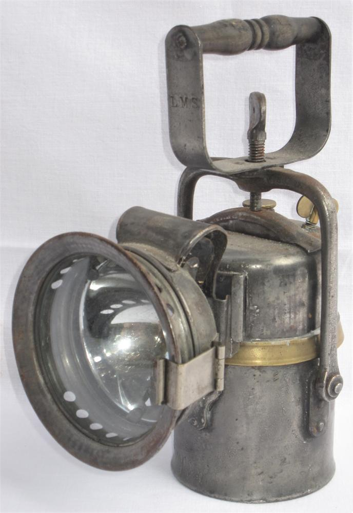 LMS Examiners Carbide Inspection Lamp. Clearly