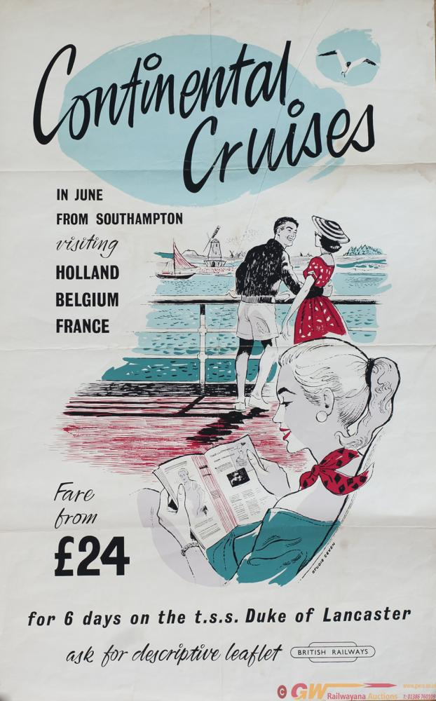 Poster BR CONTINENTAL CRUISES IN JUNE FROM