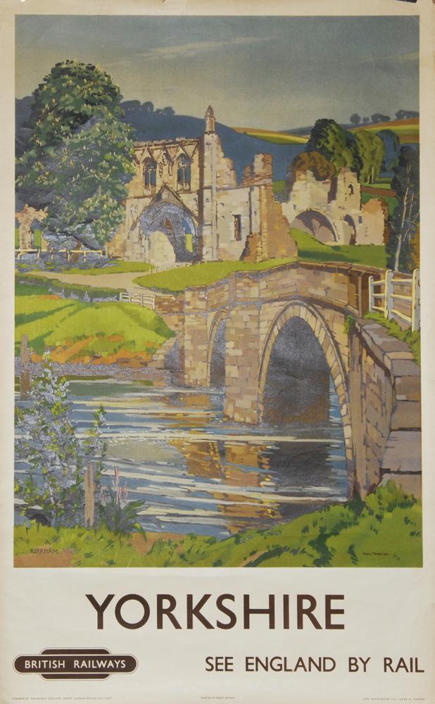 Poster, British Railways 'Yorkshire - Kirkham