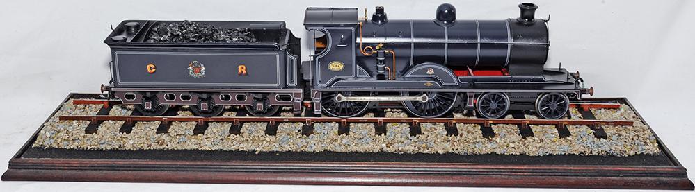 Gauge 1 Locomotive Of 4-4-0 Caledonian Railways No