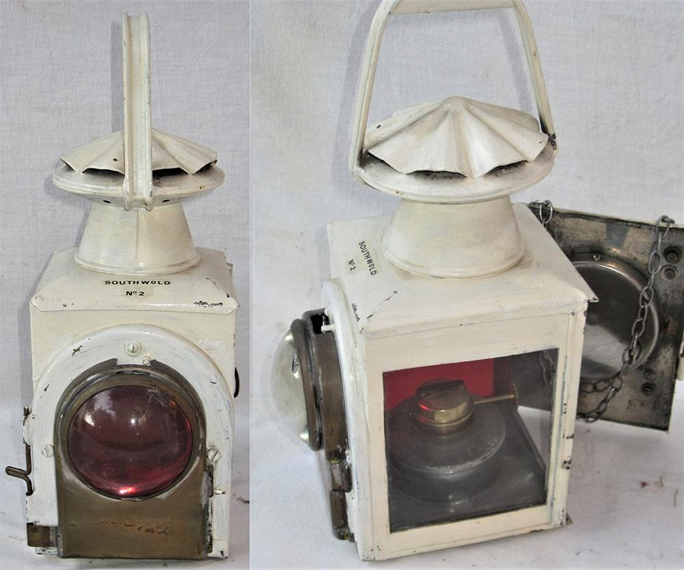 Unusual Loco Head Lamp Fitted With Bulls Eye Lens