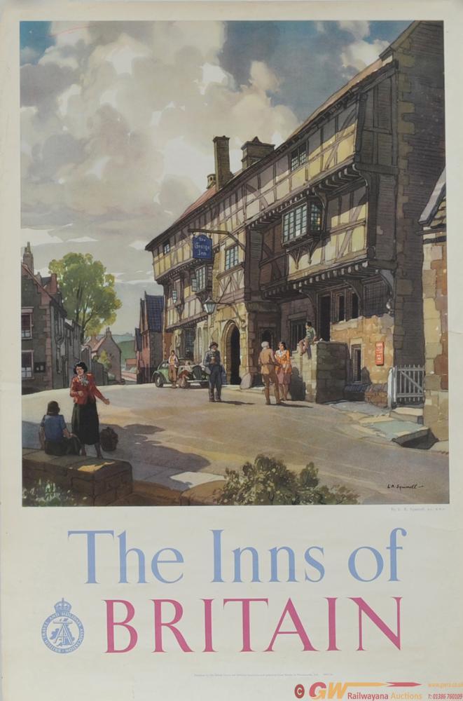 Poster British Travel & Holidays Association 'The