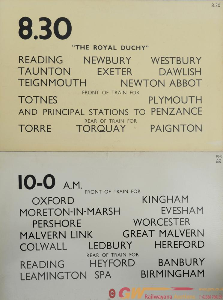 Station Departure Boards From Paddington Measuring