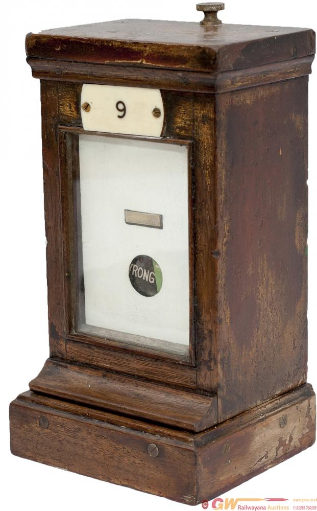 GWR Mahogany Cased LOCK REPEATER, Shows LOCK