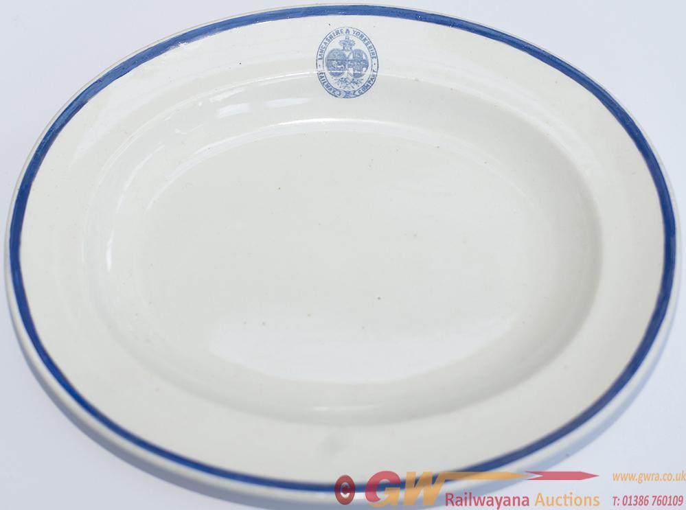 Lancashire & Yorkshire Railway China Oval Dish