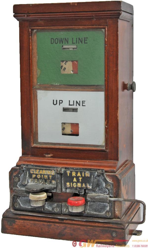 GWR Double Line Spagnoletti Block Instrument