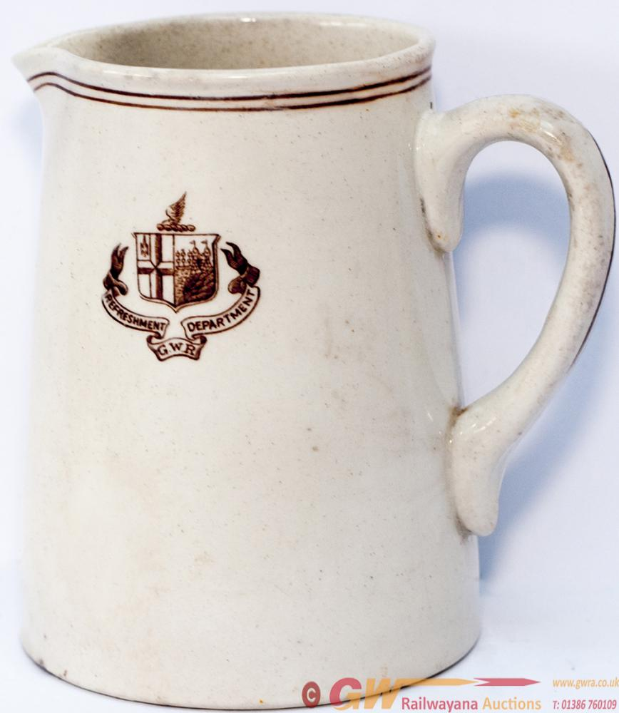 GWR China Milk Jug Marked On The Front GWR Twin