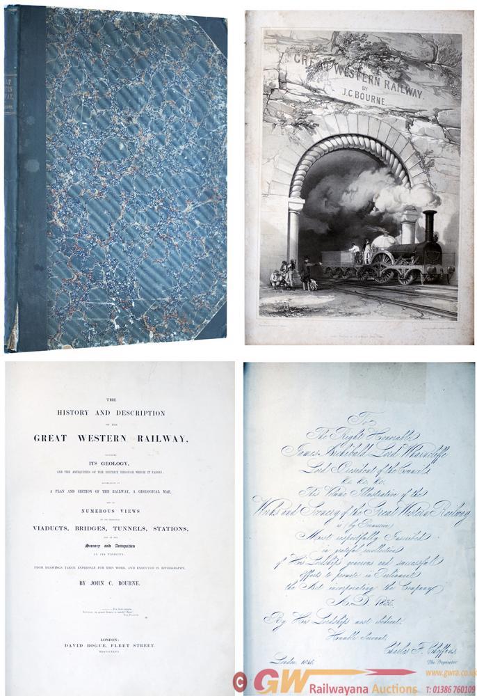 Original Book The History And Description Of The