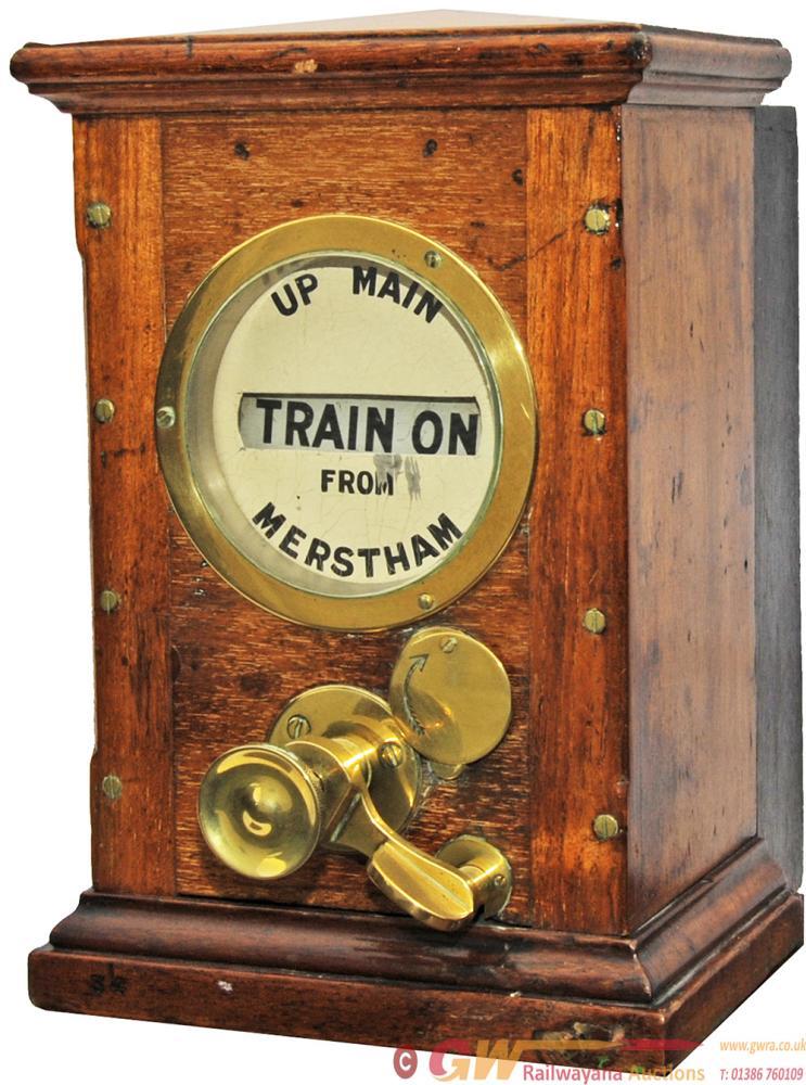 Sykes Lock & Block Signal Box Instrument 'UP MAIN