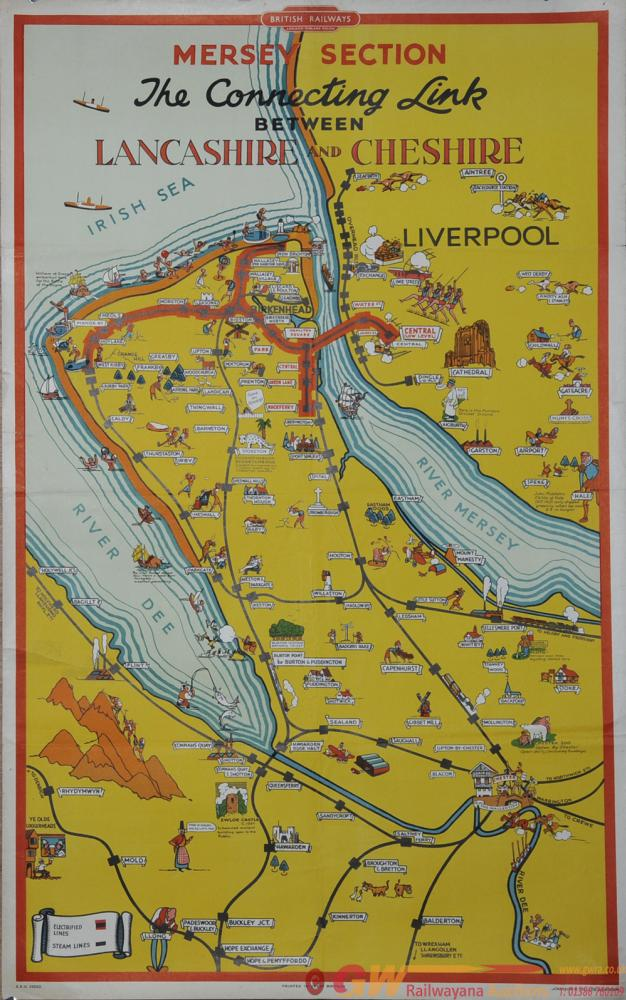 Poster British Railways, London Midland Region