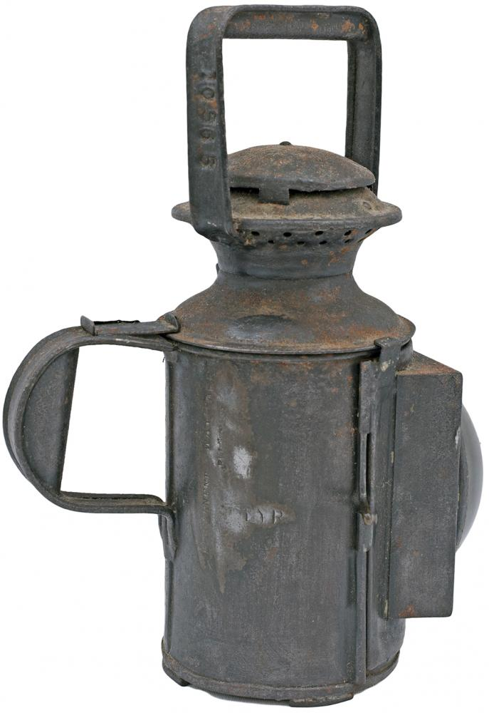 LYR 3 Aspect Handlamp Stamped In The Side And Drum
