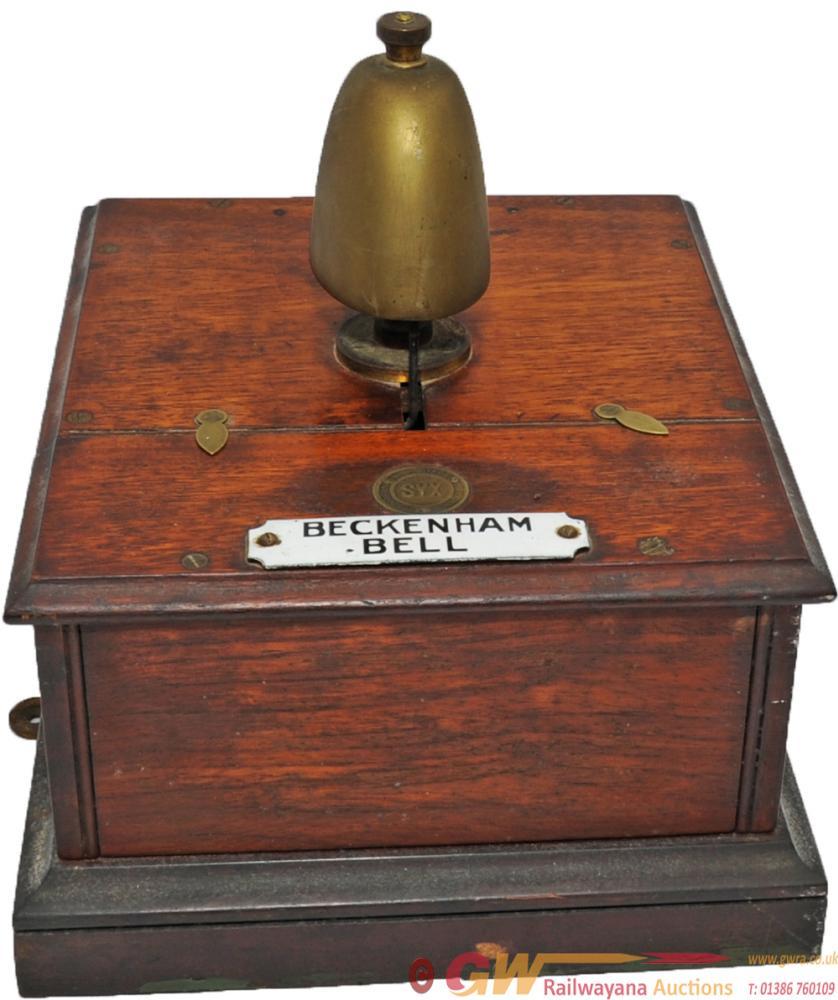 Southern Railway Sykes Signal Box Block Bell,