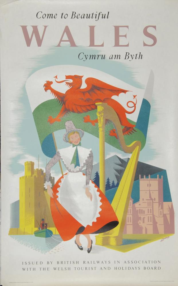 Poster, British Railways 'Come To Beautiful Wales