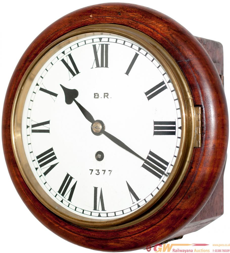 GNR 8in Mahogany Cased Fusee Clock By John Walker