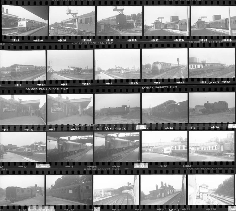 Approximately 97, 35mm Negatives. Includes Craven