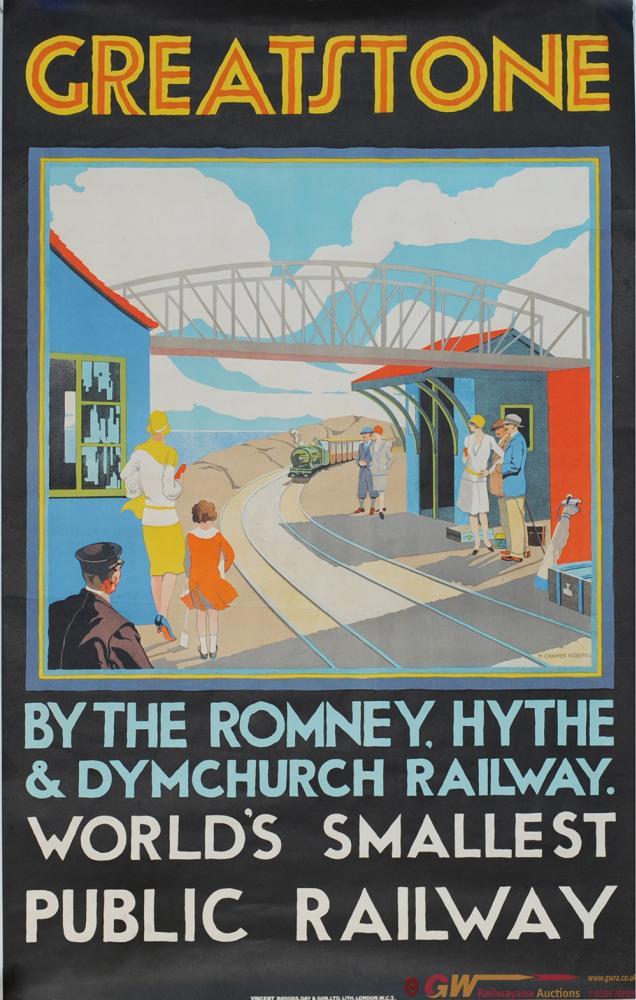 Romney Hythe & Dymchurch Poster 'Greatstone By The