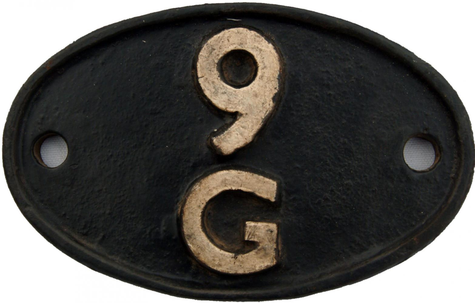 Shedplate 9g, Northwich From May 1950 Until April