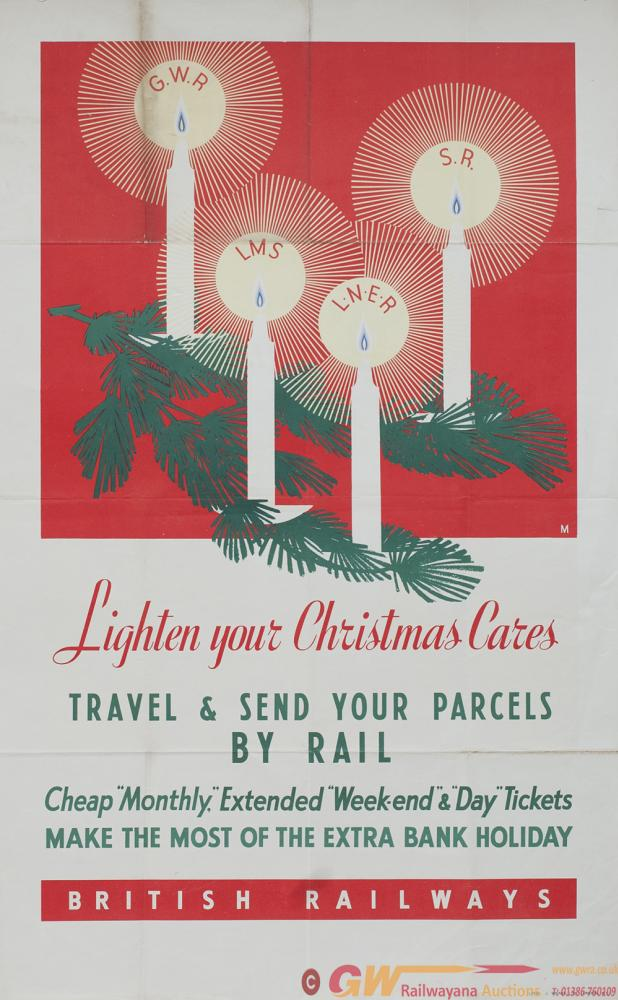 Poster Ww2 Br Lighten Your Christmas Cares Showing Posters