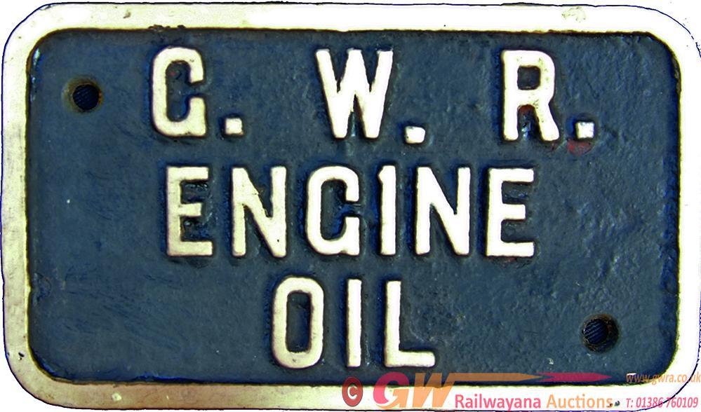 Great Western Railway, Small C/I Plate