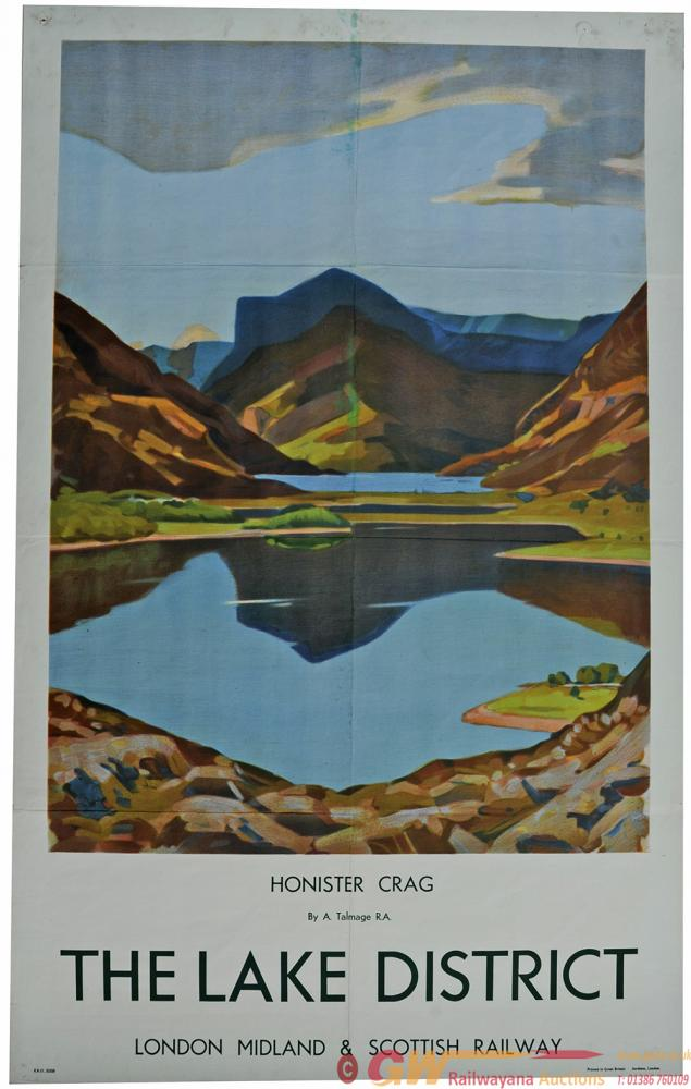 Poster LMS 'Honister Crag, The Lake District' By