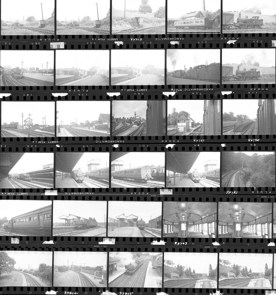 Approximately 100, 35mm Negatives. Includes Builth