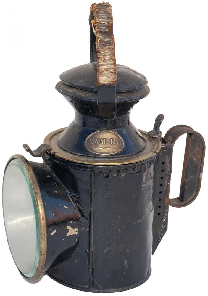 Cambrian Railway 3 Aspect Handlamp Stamped On The