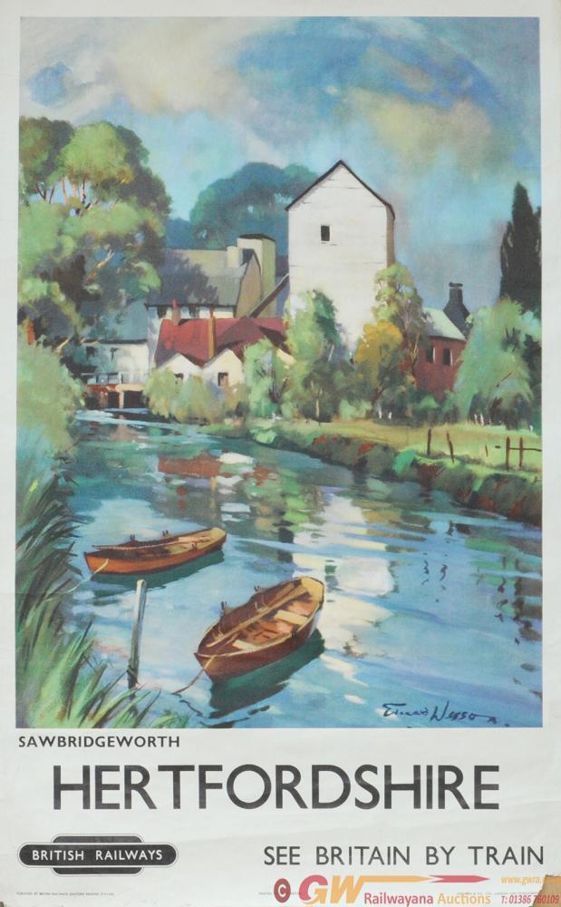 Poster BR(E) 'Sawbridgeworth, Hertfordshire' By