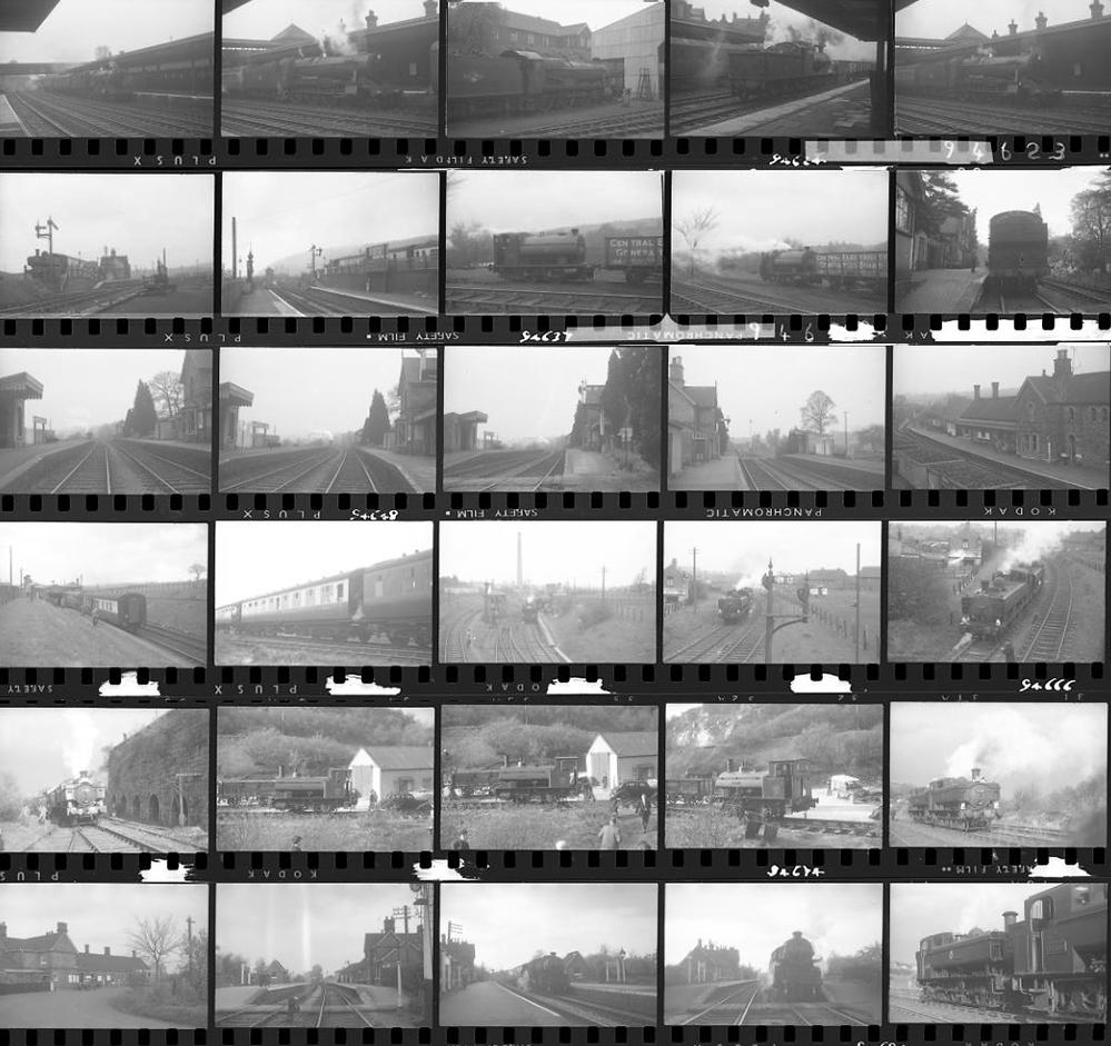Approximately 52, 35mm Negatives. Includes Much