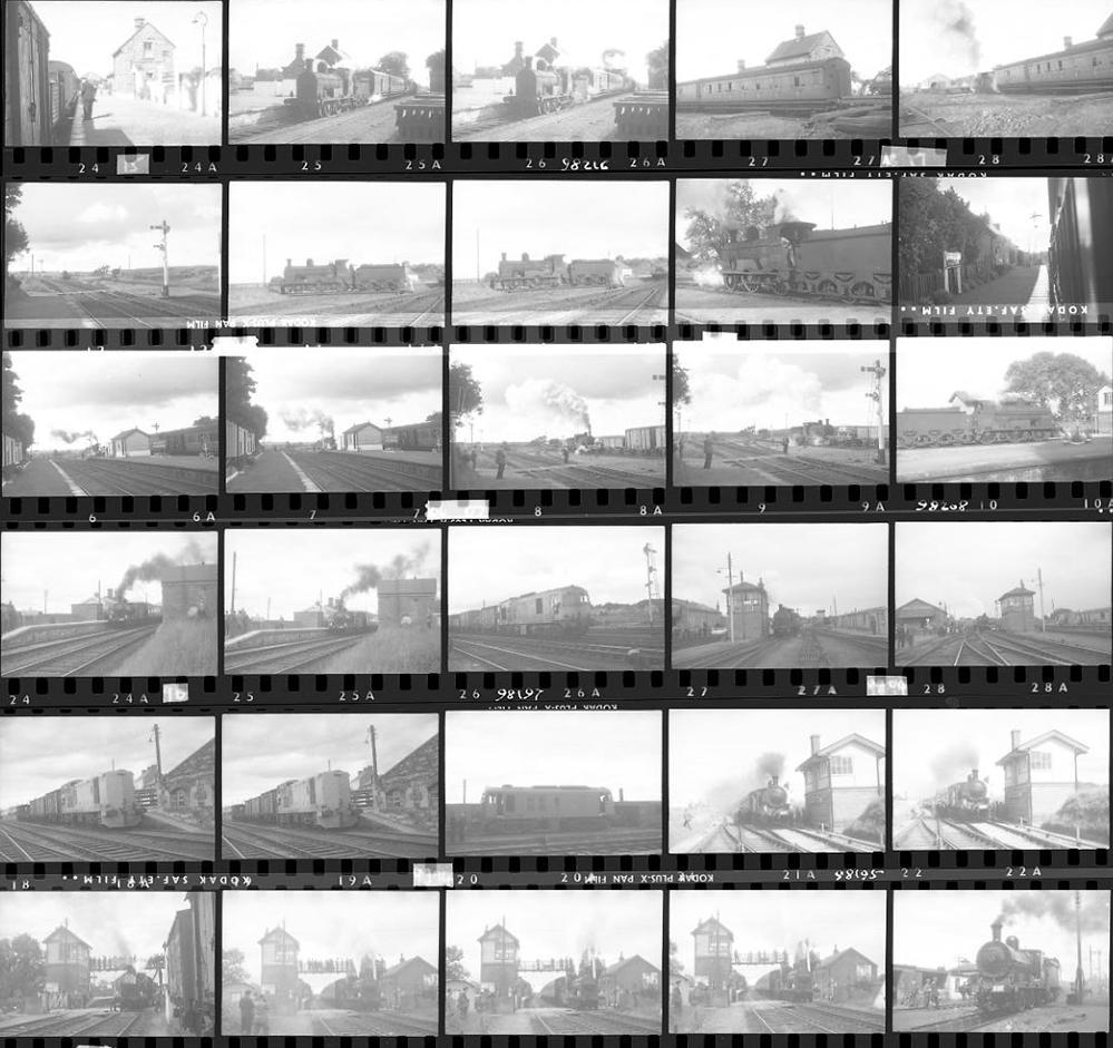 Approximately 140, 35mm Negatives. Irish To