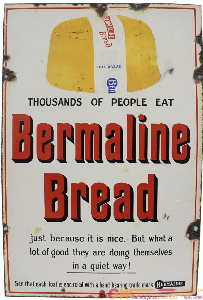 Advertising Enamel Sign 'Thousands Of People Eat
