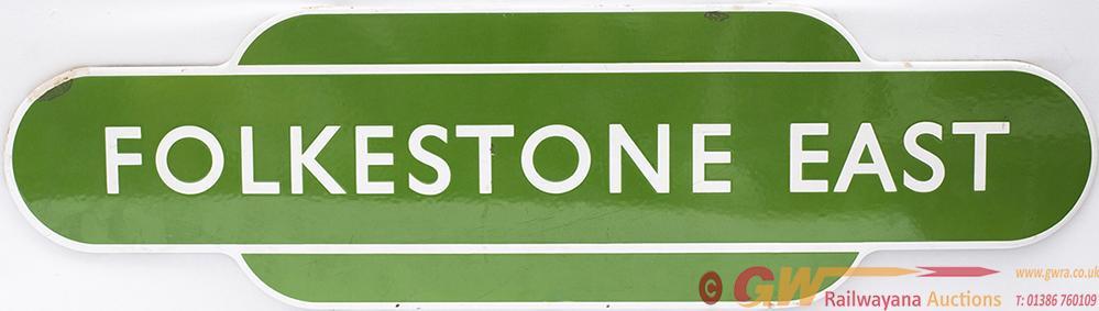 Totem BR(S) FF Light Green FOLKESTONE EAST From