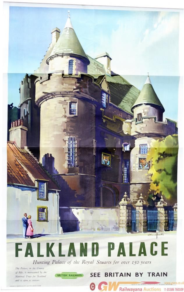 BR(Sc)  Poster Falkland Palace By Claude Buckle,
