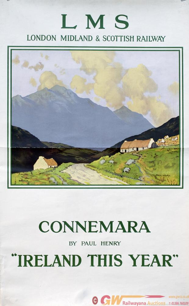 Poster LMS CONNEMARA IRELAND THIS YEAR By Paul
