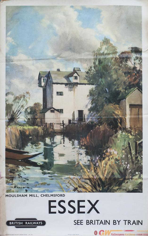 Poster BR(E) ESSEX MOULSHAM MILL, CHELMSFORD By